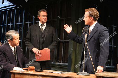 Jonathan Cullen, Hugh Bonniville as Dr Thomas Stockman and Adam James as Hovstad