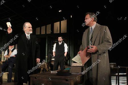 William Gaminara as Peter Stockton and Hugh Bonniville as Dr Thomas Stockman