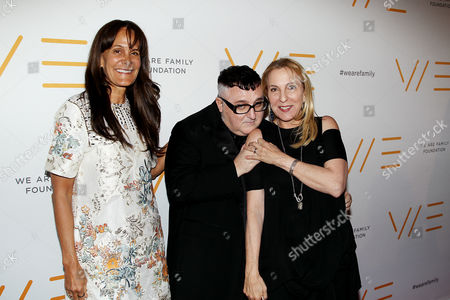 Julie Gilhart, Alber Elbaz, Susan Rockefeller