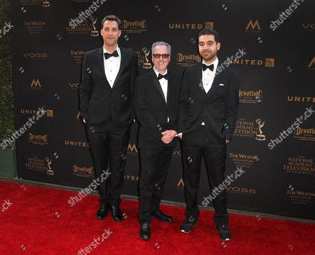 Paul Raphael, Andre Lauzon and Ryan Horrigan
