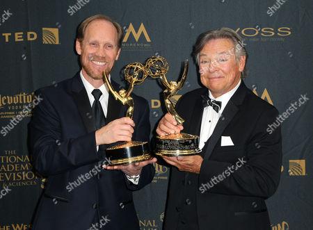Jeff Bennett and Frank Welker