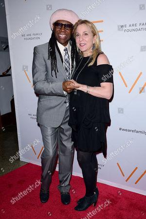 Nile Rodgers, Susan Cohn Rockefeller