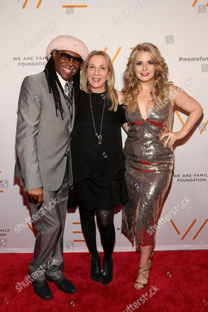 Nile Rodgers, Susan Rockefeller, Nancy Hunt