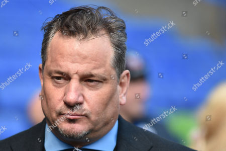 Bolton Chairman Dean Holdsworth during the Sky Bet Championship match between Bolton Wanderers and Hull City at the Macron Stadium, Bolton
