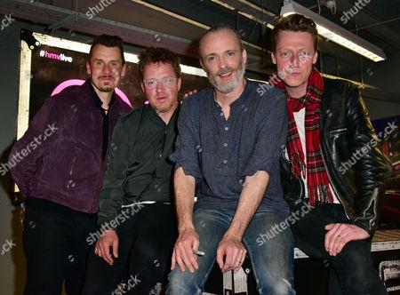 Travis - Neil Primrose, Andy Dunlop, Fran Healy, Dougie Payne