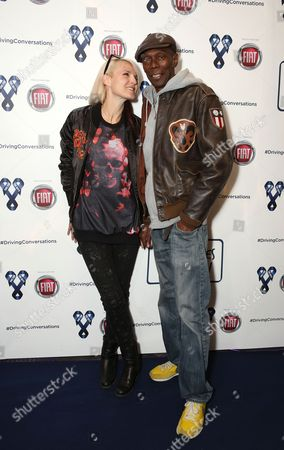 Sister Bliss and Maxi Jazz of Faithless