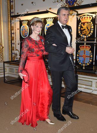 Crown Princess Margareta and Prince Radu of Romani