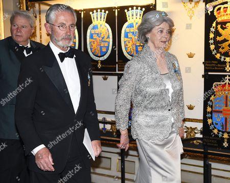 Tord Magnuson, Princess Margaretha of Liechtenstein