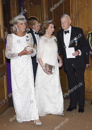 Princess Birgitta, Princess Desiree Nosbusch, Niclas Silfverschiöld