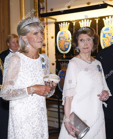 Princess Birgitta, Princess Desiree Nosbusch