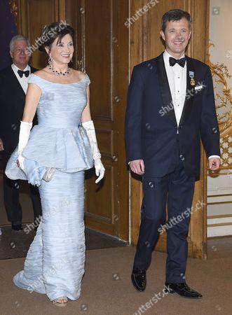 Dorrit Moussaieff, Crown Prince Frederik