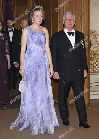 Queen Mathilde, Crown Prince Alexander