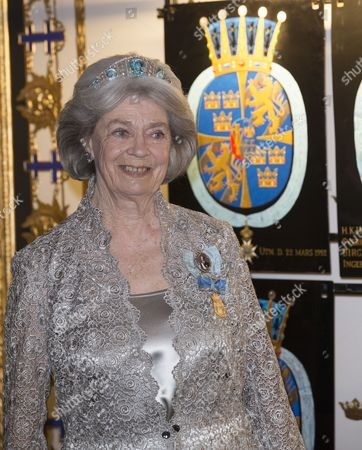 Princess Margaretha of Liechtenstein, Banquet in connection with The King's birthday, Royal Palace, Stockholm