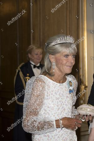Princess Birgitta, Banquet in connection with The King's birthday, Royal Palace, Stockholm