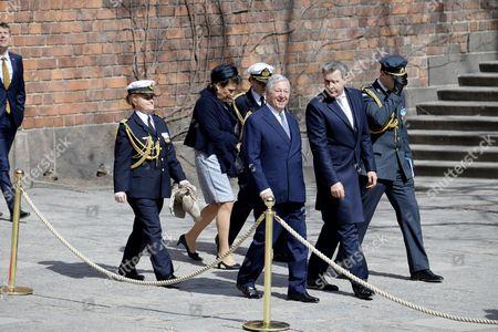Crown Prince Alexander of Serbia, Prince Radu of Romania