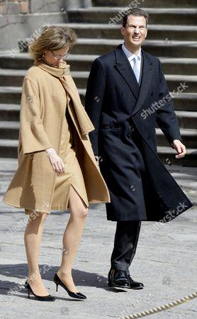 Crown Prince Alois of Liechtenstein of Liechtenstein and Princess Sophie of Isenburg of Liechtenstein