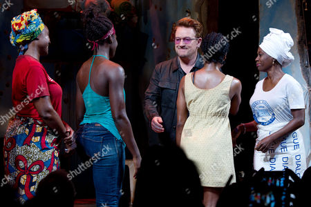 Saycon Sengbloh, Lupita Nyong'o, Bono, Pascale Armand and Akosua