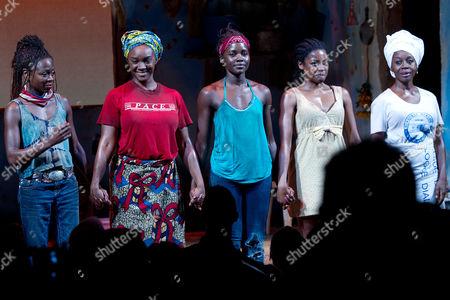 Zainab Jah, Saycon Sengbloh, Lupita Nyong'o, Pascale Armand, Akosua Busia
