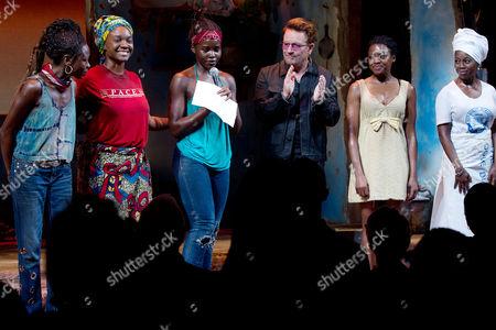 Zainab Jah, Saycon Sengbloh, Lupita Nyong'o, Bono, Pascale Armand, Akosua Busia