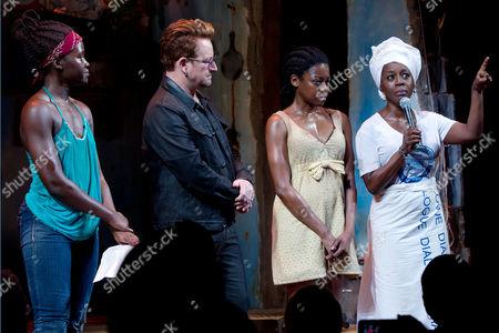 Lupita Nyong'o, Bono, Pascale Armand and Akosua Busia