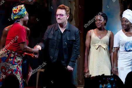 Saycon Sengbloh, Bono, Pascale Armand and Akosua Busia