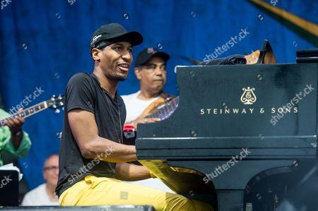 Stock Image of Tribute to Allen Toussaint - Jon Batiste
