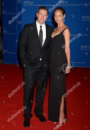 Edward Burns and wife Christy Turlington