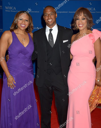Gayle King with daughter Kirby Bumpus and son William Bumpus Jr