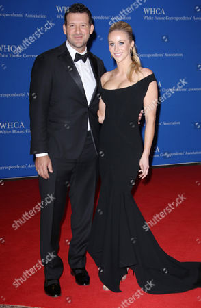 Tony Romo and Candice Crawford
