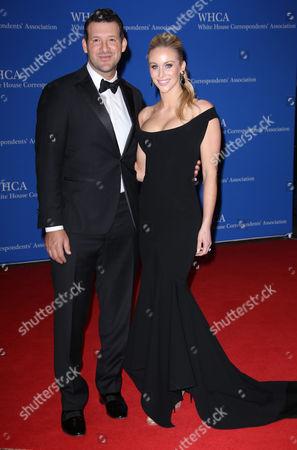 Stock Photo of Tony Romo and Candice Crawford