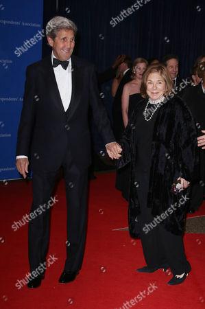 John Kerry and wife Teresa Heinz Kerry
