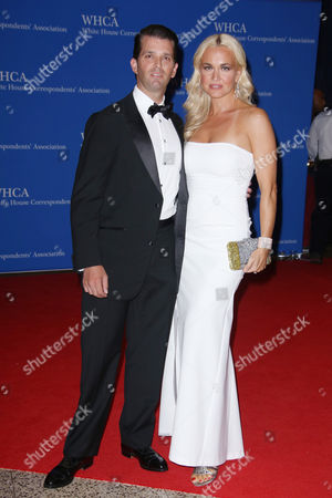 Donald Trump Jnr. and wife Vanessa Haydon Trump