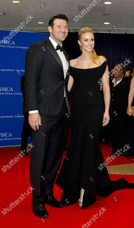 Tony Romo and wife Candice Crawford