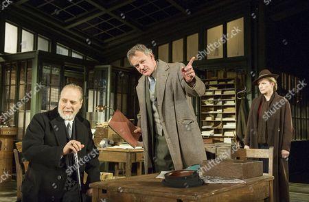 William Gaminara as Peter Stockman; Hugh Bonneville as Dr Stockman, Abigail Cruttenden as Mrs Stockman