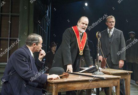 Jonathan Cullen as Aslaksen,  William Gaminara as Peter Stockman; Hugh Bonneville as Dr Stockman