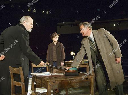 William Gaminara as Peter Stockman, Abigail Cruttenden as Mrs Stockman, Hugh Bonneville as Dr Stockman