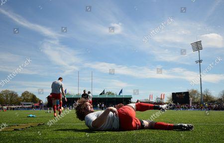 Editorial photo of Aviva Premiership Rugby 2015/16 Saracens v Newcastle Falcons Allianz Park, London, United Kingdom - 1 May 2016