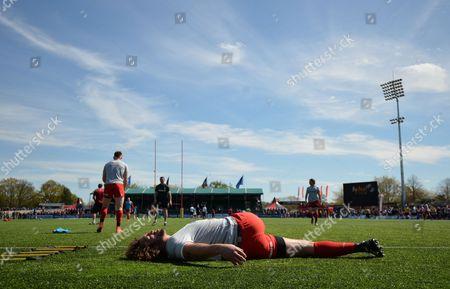 Editorial image of Aviva Premiership Rugby 2015/16 Saracens v Newcastle Falcons Allianz Park, London, United Kingdom - 1 May 2016
