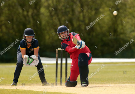 Editorial photo of Essex Women 1st XI against Cricket Wales Women's 1st XI at