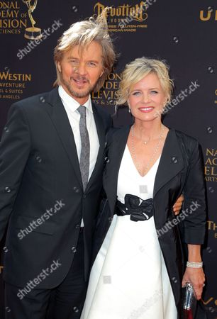 Stock Picture of Stephen Nichols and Mary Beth Evans
