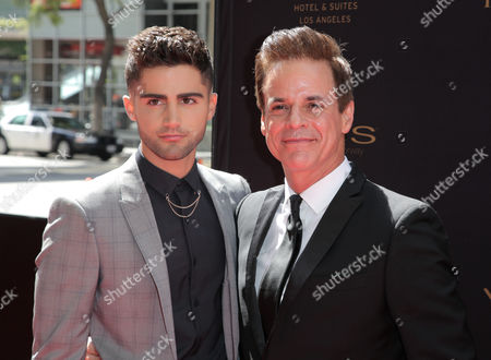 Max Ehrich and Christian LeBlanc