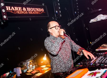 Editorial photo of David Rodigan in concert at The Hare And Hounds, Birmingham, Britain - 29 Apr 2016