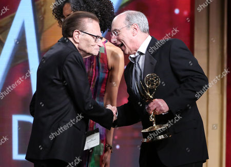 Larry King and Rand Morrison