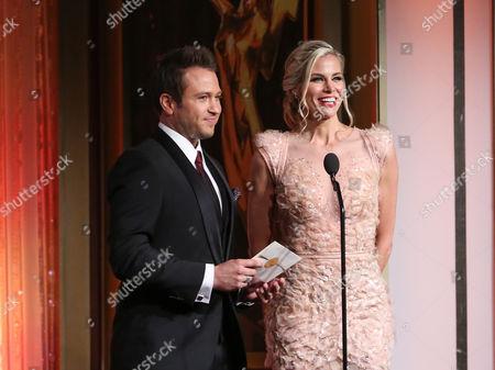 Matt Doran and Brooke Burns