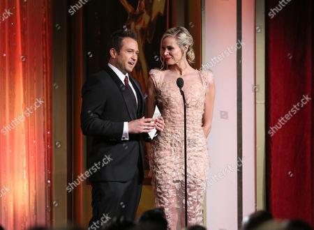 Stock Image of Matt Doran and Brooke Burns