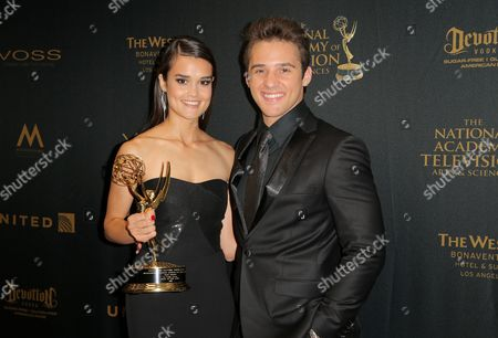 Editorial picture of Daytime Emmy Awards, Press Room, Los Angeles, America - 01 May 2016