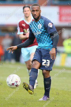 David Hoilett of Queens Park Rangers during the Sky Bet Championship match between Burnley and Queens Park Rangers played at Turf Moor, Burnley on May 2nd 2016