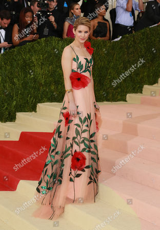 Editorial image of The Metropolitan Museum of Art's COSTUME INSTITUTE Benefit Celebrating the Opening of Manus x Machina: Fashion in an Age of Technology, Arrivals, The Metropolitan Museum of Art, NYC, New York, America - 02 May 2016