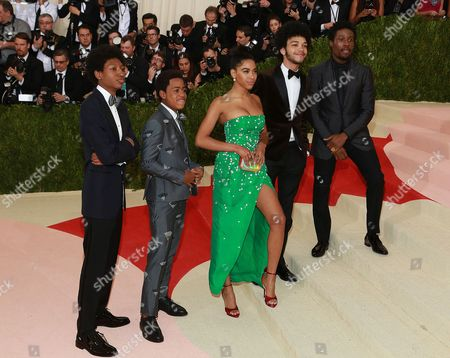 Stock Photo of Herizen F. Guardiola and guests