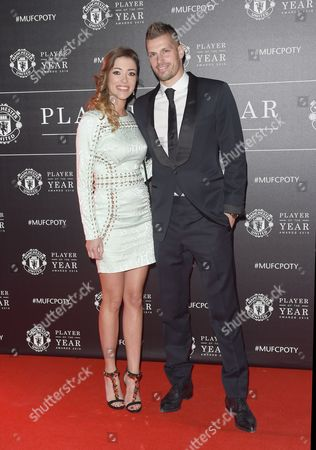 Morgan Schneiderlin and girlfriend Camille Sold